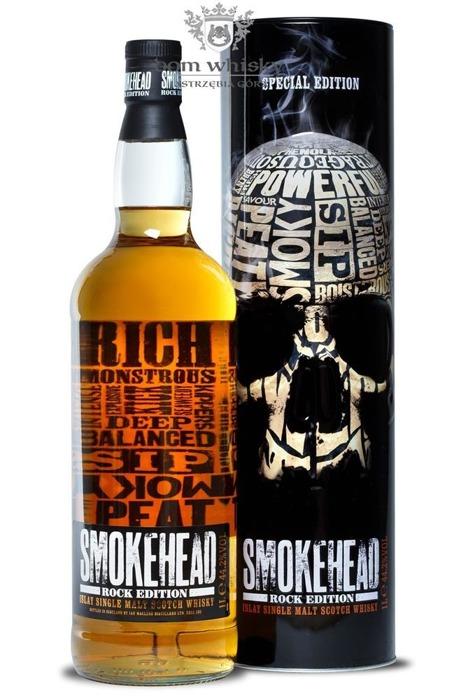 Smokehead Rock Edition Single Islay Malt / 44,2% / 1,0l