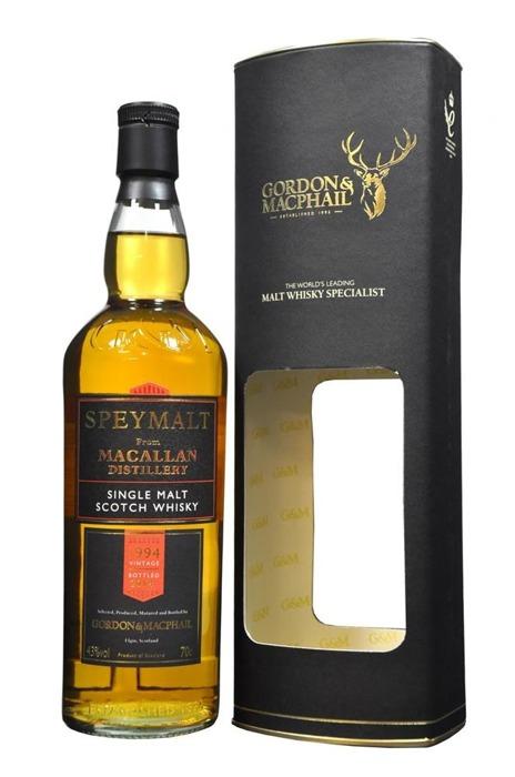 Speymalt from Macallan Distillery (D.1994 B.2002) G&M /40%/0,7l