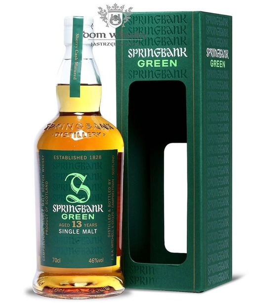 Springbank Green, 13-letni / 46% / 0,7l