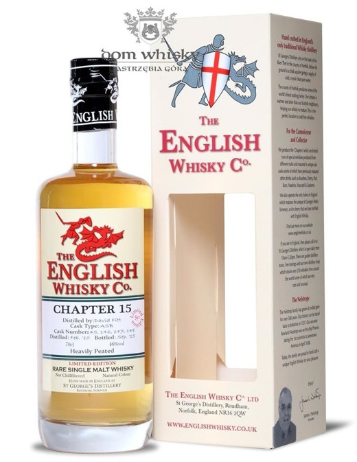 St. George's Distillery Chapter 15, Heavily Peated / 46% / 0,7l
