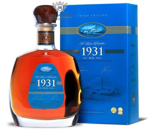 St Lucia 1931 Rum, 82rd Anniversary, Third Edition / 43% / 0,7l