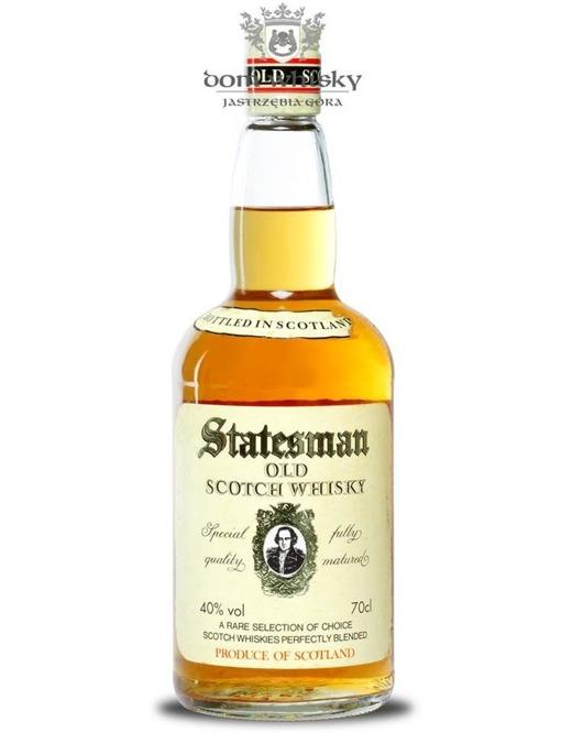 Statesman Blended Scotch Whisky, 3-letni / 40% / 0,7l