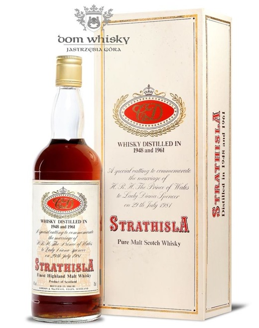 Strathisla C&D,(D. 1948 and 1961)Gordon MacPhail / 40%/0,75l
