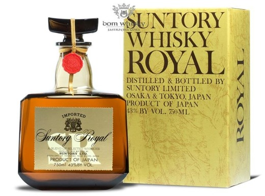 Suntory Royal SR Whisky Decanter / 43% / 0,75l