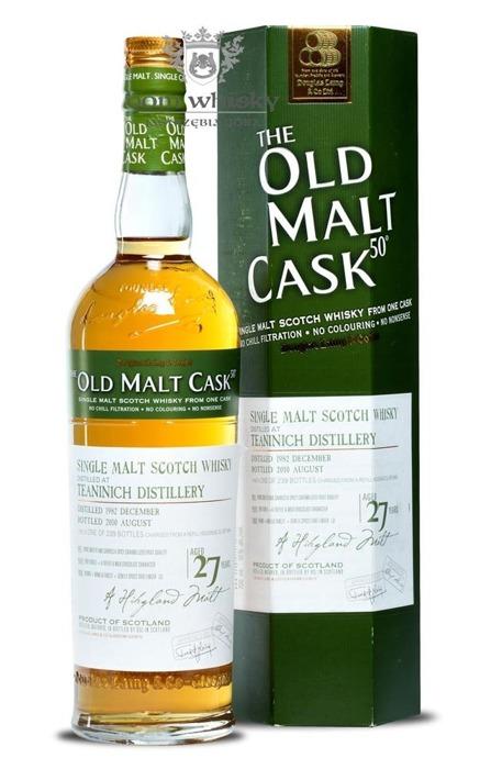 Teaninich 27 letni D.1982 B.2010 Old Malt Cask / 50% / 0,7l