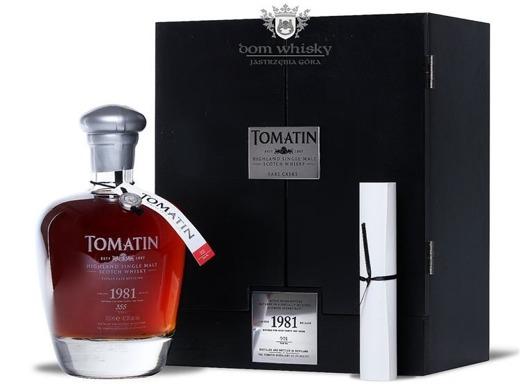 Tomatin 1981 Vintage, 32-letni / 42,3% / 0,7l