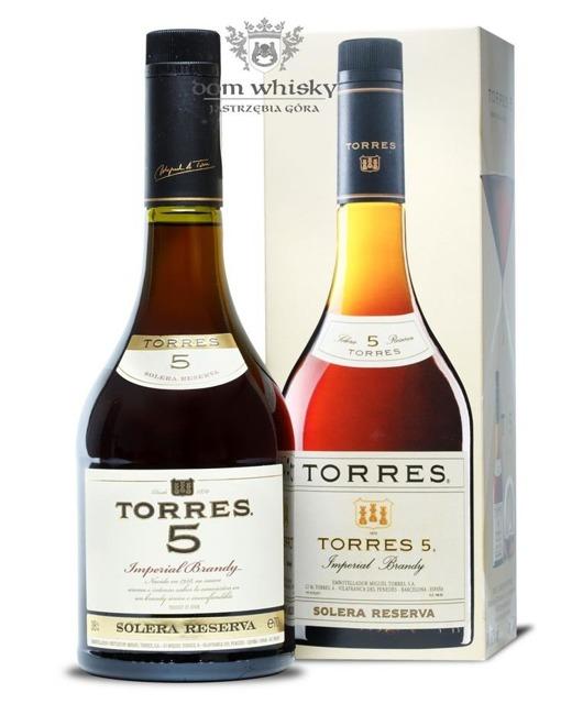 Torres 5-letni Brandy / 38% / 0,7l