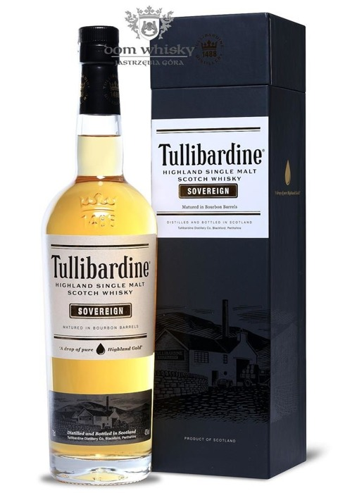 Tullibardine Sovereign Bourbon Cask / 43% / 0,7l