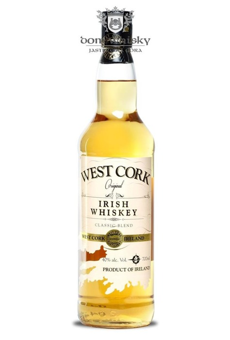 West Cork Classic Blend Irish Whiskey / 40% / 0,7l