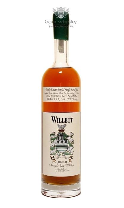 Willett Straight Rye Kentucky Whiskey 3 letni / 57,65% / 0,75l