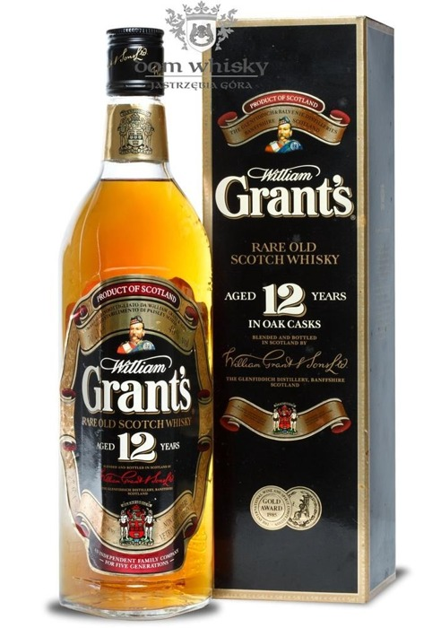 William Grant's 12-letni, Gold Medal 1985 / 40% / 0,7l
