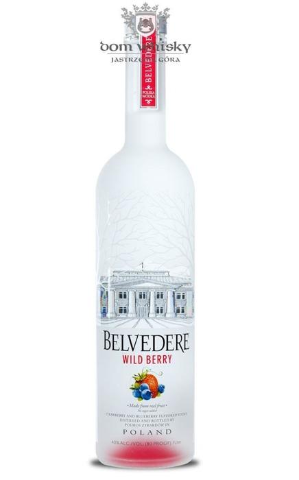 Wódka Belvedere Wildberry / 40% / 1,0l