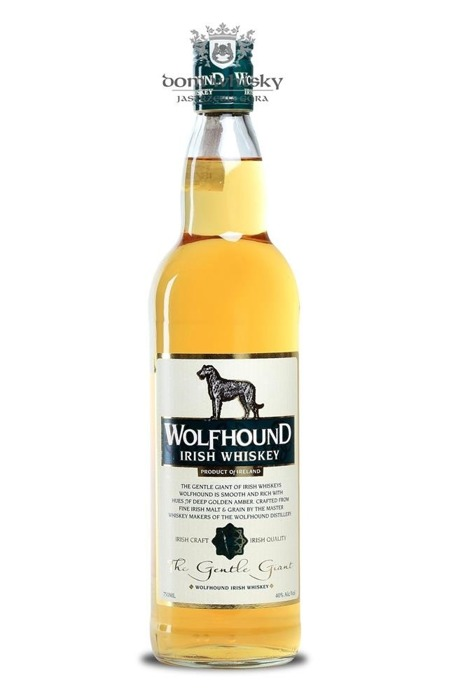 Wolfhound Irish Whiskey / 40% / 0,75l