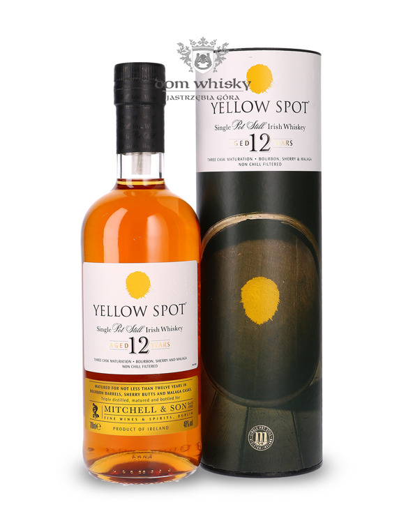 Yellow Spot 12-letni Single Pot Still / 46% / 0,7l
