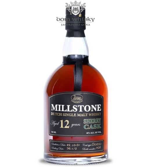 Zuidam Millstone 12 letni Sherry Cask (Holandia) / 46% / 0,7l